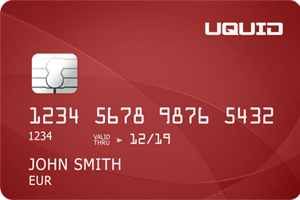 Uquid VISA Debit Card