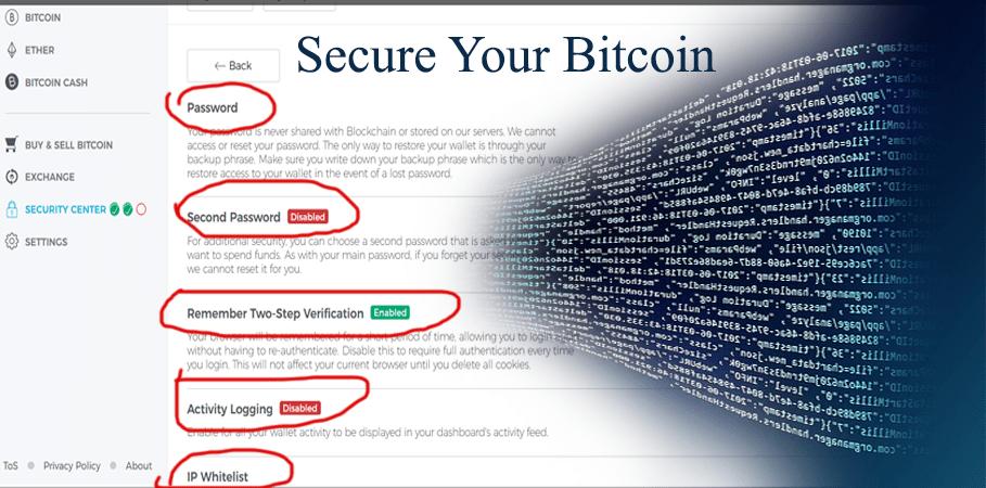 secure blockchain wallet