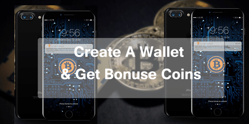 Cryptocurrency wallets offers