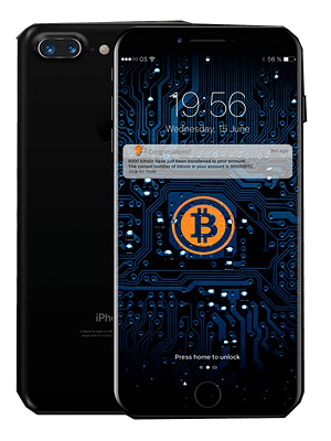 Mobil cryptocurrency wallet