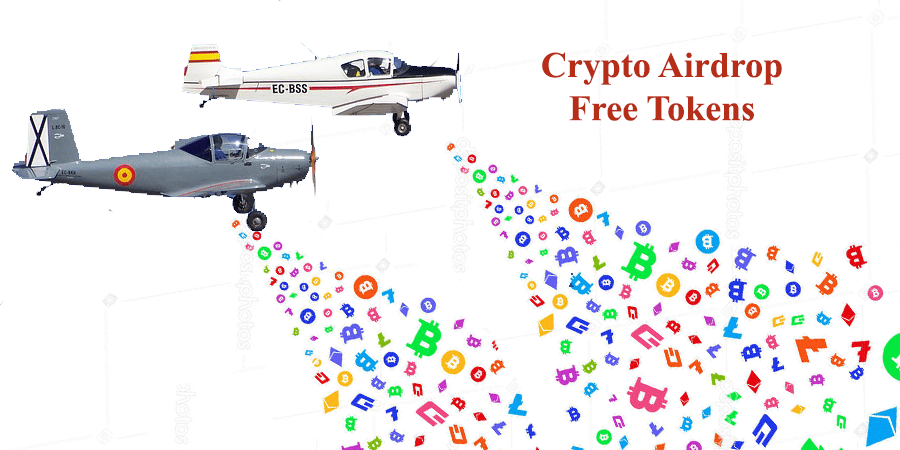 receive free crypto tokens