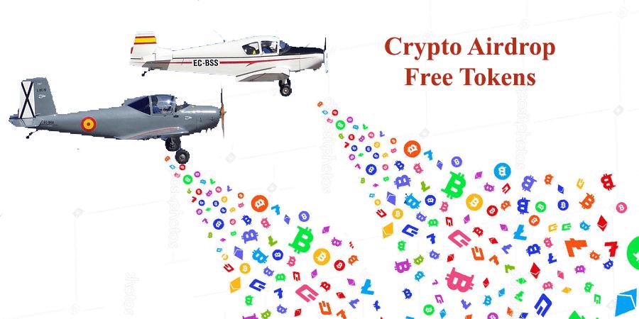 receive free crypto tokens