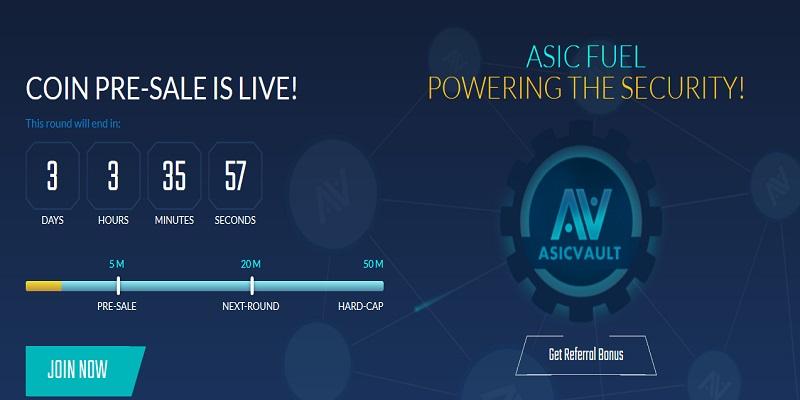 Asic Vault (AVF)