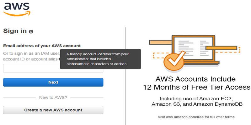 Access On AWS