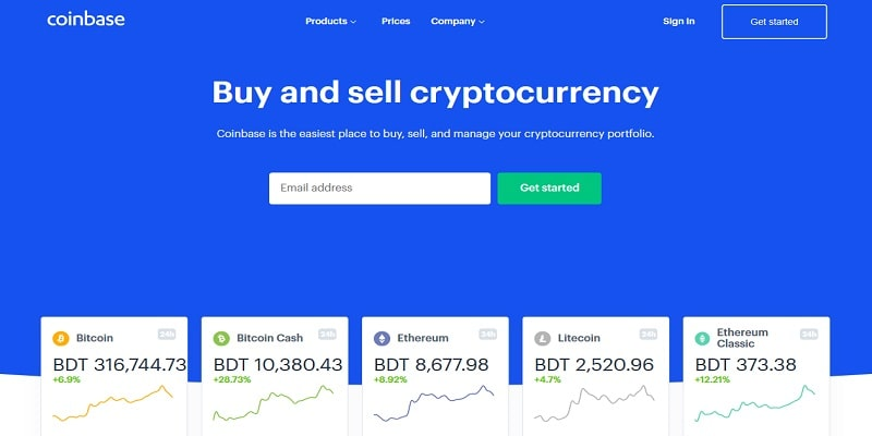 source Coinbase Exchange