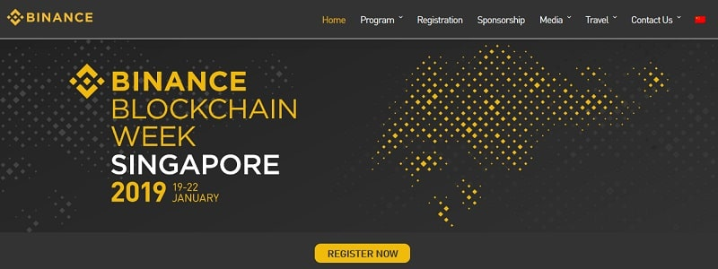 Binance Blockchain Week Singapore