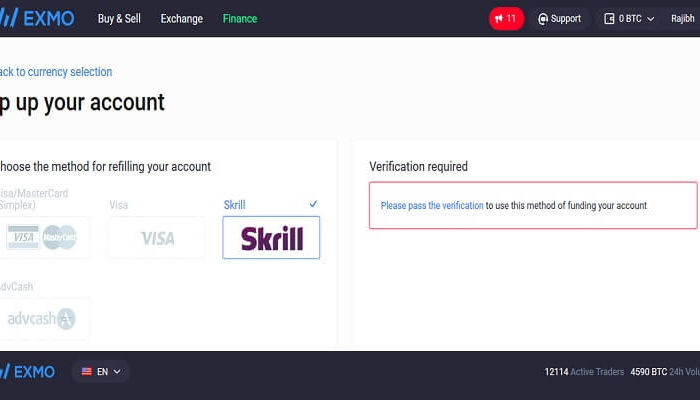 How To Buy Bitcoin With Skrill At Exmo