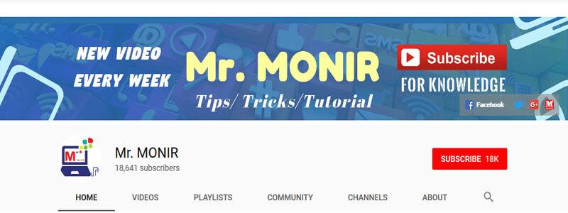Mr. MONIR