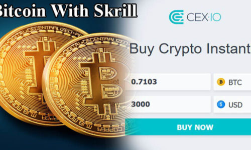 Buy Bitcoin With Skrill At CEX.IO