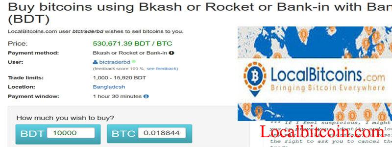 Bitcoin Through localbitcoins