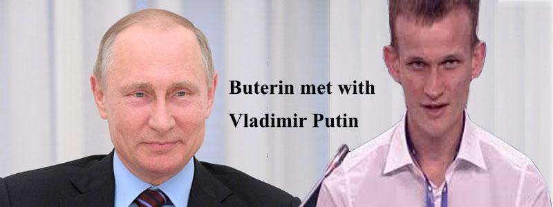 Buterin met with Vladimir Putin