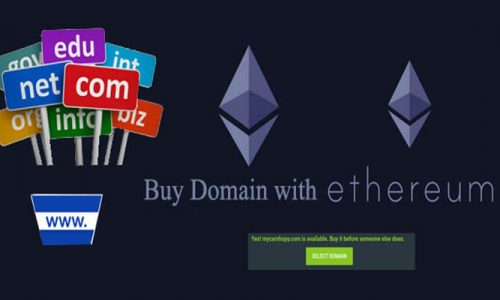 How To Buy Domain with Ethereum?