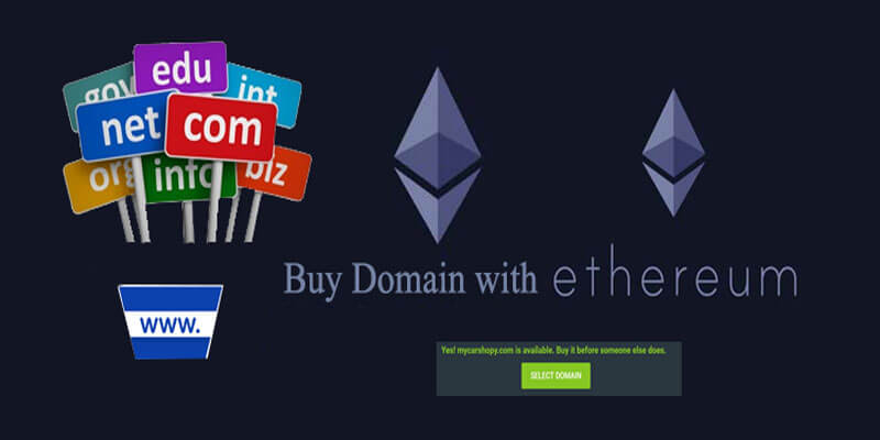 Buy Domain with Ethereum