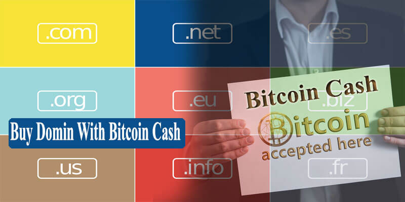 buy domain with Bitcoin cash