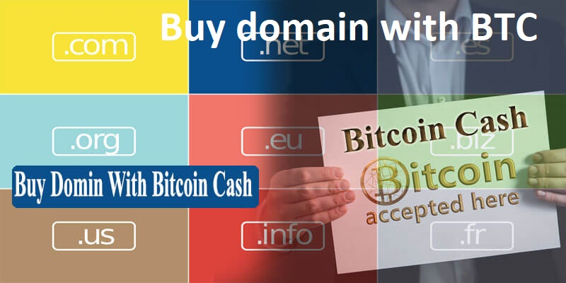 Buy Domain with Cryptocurrency
