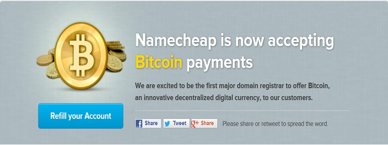 namecheep accepting btc