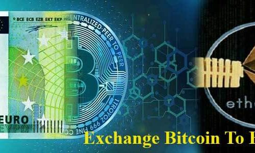 Bitcoin to Ethereum exchange or converter instant pay