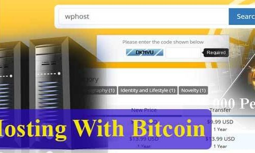 Hosting With Bitcoin Ethereum Litecoin etc