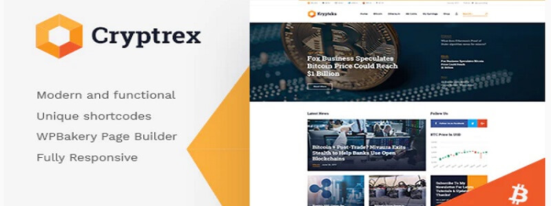 Kryptex WordPress theme