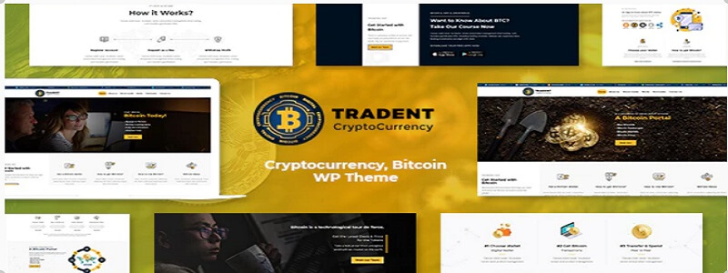 Tradent WordPress theme
