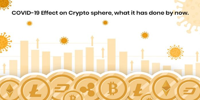 COVID-19 Effect on Crypto